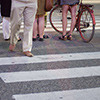 Design Treatments Pedestrian Crossing & Bike Striping (2004)