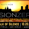 Join the Vision Zero Coalition for the Walk of Silence on October 20
