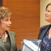 Executive Director delivers Award to USF President Judy Genshaft