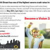 VisionZERO813 hits 56th and 15th Streets