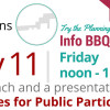 Join the Planning Commission for our May 11 Info BBQ!