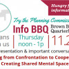 Bring your own bag lunch to our next Info BBQ