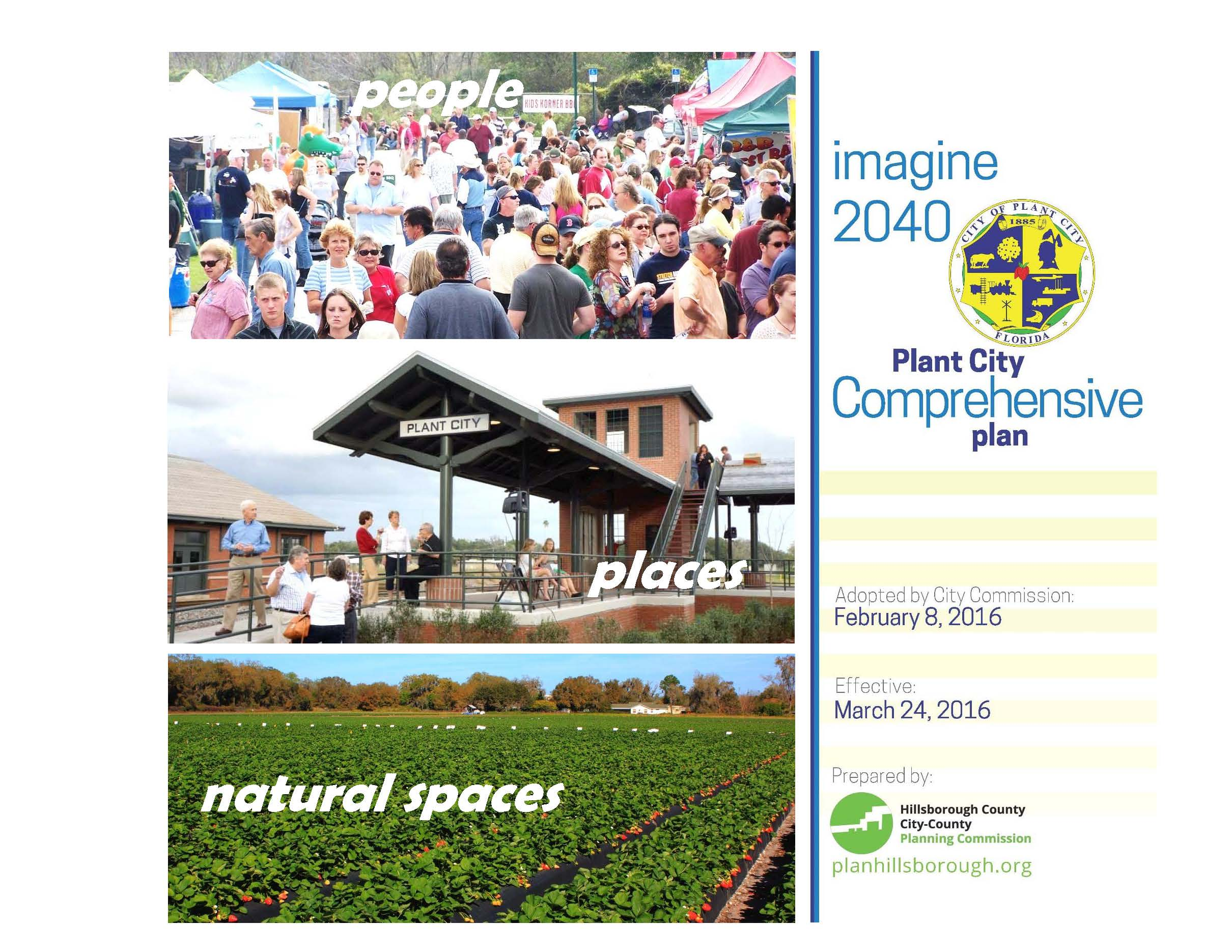 Plant City 2040 Comp Plan final cover