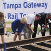 Ground Breaking of Tampa Gateway Rail Transit