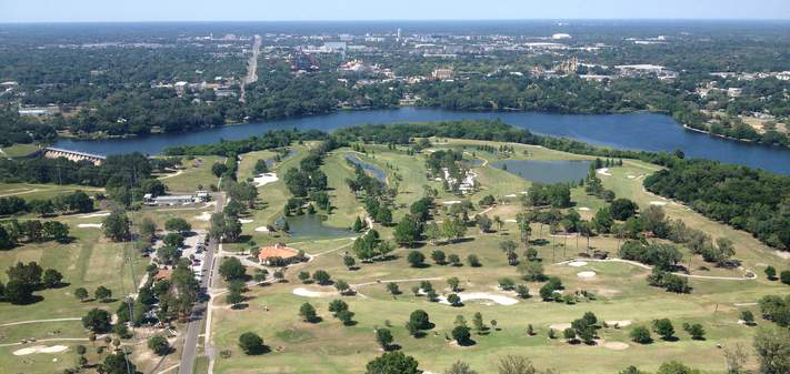 As the City and State try to reduce runoff from Roger's Park Golf Course, they have to contend with the course's underlying topography, which goes back to when the land was a city park. It became a gold Course in 1952.