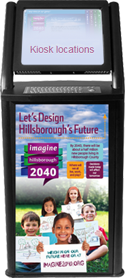 Click for Imagine 2040 kiosk locations