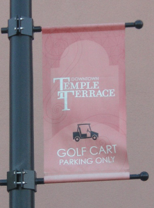 TempleTerrace_golfcart_sign