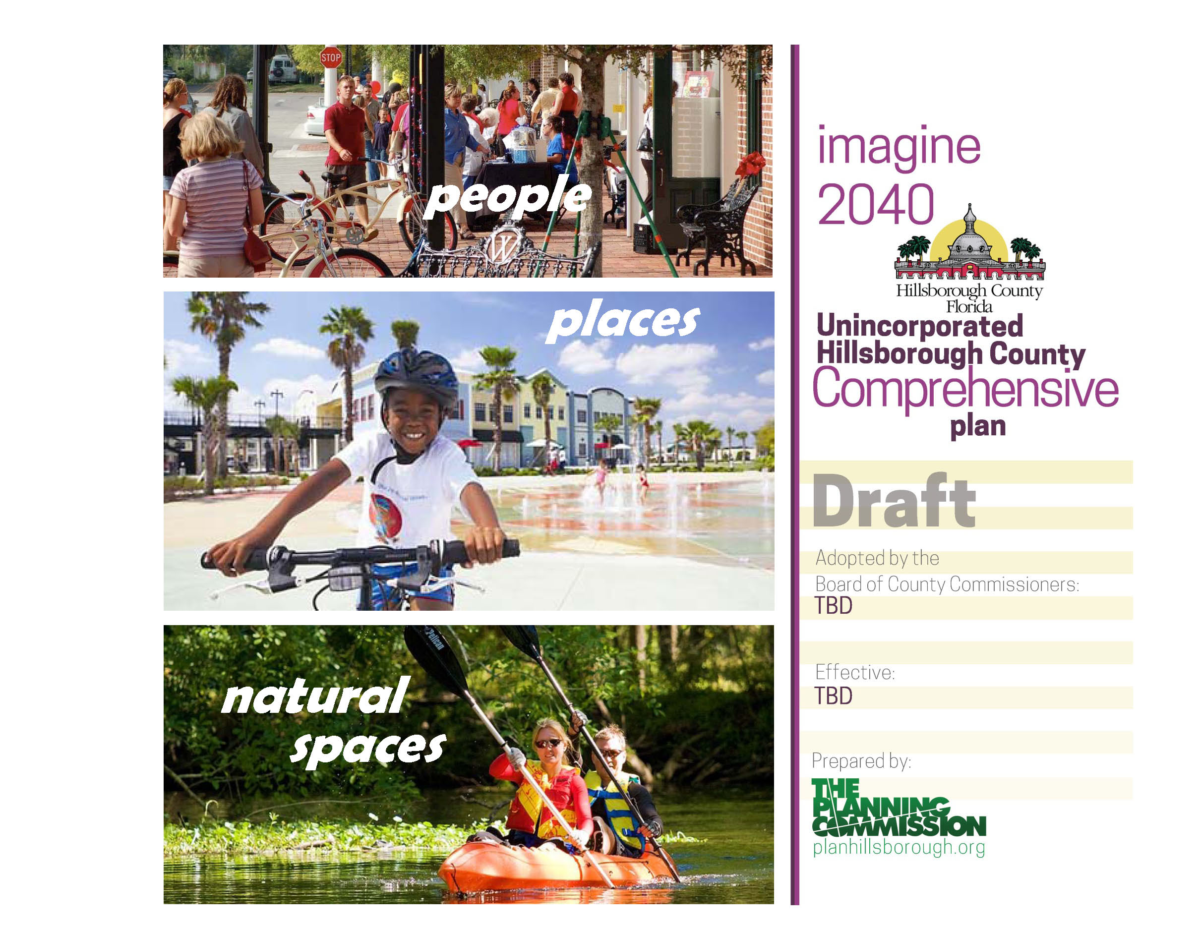 Hillsborough County 2040 draft Comp Plan cover