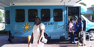Sunshine Line mini bus