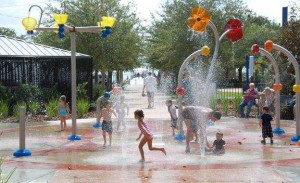 Water Park with Children