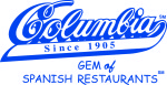 Color Columbia logo with gem of spanish restaurants