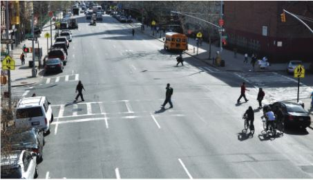 NYC Vision Zero Before-click the right arrow to see after