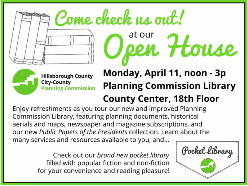 Pocket Library Open House