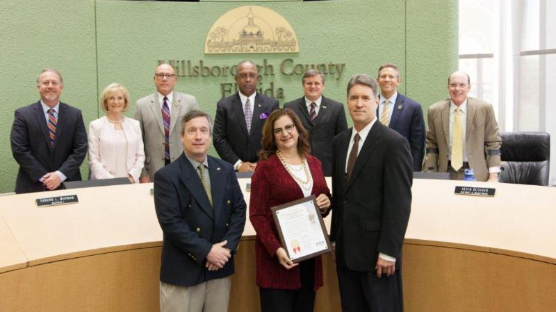 HRIPB receives BOCC's Commendation in recognition of significant impacts to our community