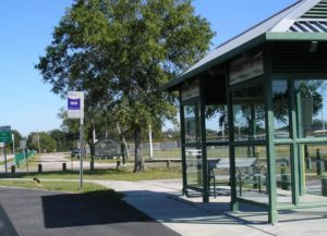 HART covered bus station