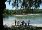 Photo of people relaxing at Lithia Springs