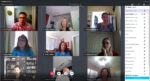 Plan Hillsborough staff video chatting while working remotely