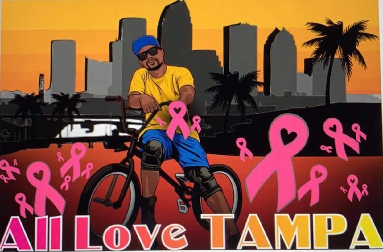 All Love Rideout graphic